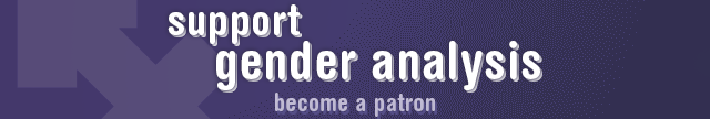 Support Gender Analysis on Patreon